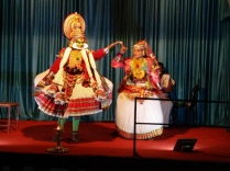 The Kathakali performers